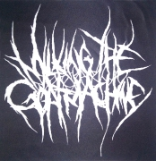 MILKING THE GOATMACHINE Logo Backpatch (o378a)