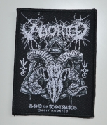 ABORTED God Of Nothing 7,8 cm x 10,3 cm - Patch