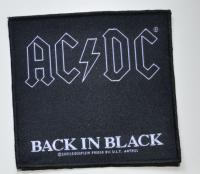 AC/DC Back In Black Patch
