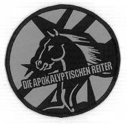 DIE APOKALYPTISCHEN REITER Gewebter Aufnaeher (o18)