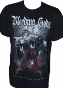 BLEEDING GODS - Bleed Over Europe - Gildan Heavy Cotton T-Shirt - L