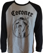CORONER - Punishment For Decadence - Tee Jays Baseball Longsleeve
