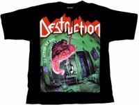 DESTRUCTION Cracked Brain T-Shirt