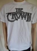 THE CROWN Logo white T-Shirt