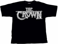 THE CROWN White Logo T-Shirt EXTRA-LARGE (o336)