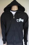 THE CROWN Pocket Logo Hooded Zip Jacket