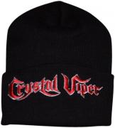 CRYSTAL VIPER Logo Beanie