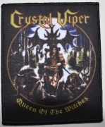 CRYSTAL VIPER Queen Of The Witches Patch