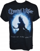 CRYSTAL VIPER - Tales Of Fire And Ice - Gildan T-Shirt