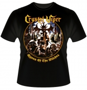 CRYSTAL VIPER Queen Of The Witches Vintage T-Shirt