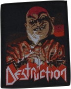 DESTRUCTION - Live Without Sense - 9,7 cm x 11,7 cm - Patch