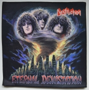 DESTRUCTION - Eternal Devastation - 24,3 cm x 24,8 cm - Backpatch