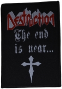 DESTRUCTION - The End Is Near - 7,1 cm x 10,2 cm - Patch