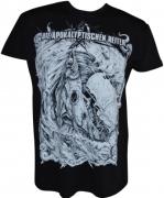 DIE APOKALYPTISCHEN REITER Leben Und Tod T-Shirt