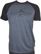 DIE APOKALYPTISCHEN REITER Charcoal/Black T-shirt Black Logo