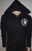 DIE APOKALYPTISCHEN REITER University Of Reitermania Womens Hooded Zip Jacket Small (u517)