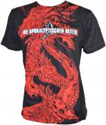 DIE APOKALYPTISCHEN REITER Der Rote Reiter Allover T-Shirt S