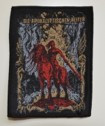 DIE APOKALYPTISCHEN REITER Der Rote Reiter 9,2 cm x 11,8 cm - Patch