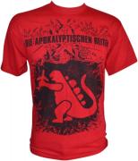 DIE APOKALYPTISCHEN REITER Die Sonne Scheint Mir Aus Dem Arsch T-Shirt