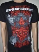 DIE APOKALYPTISCHEN REITER Die Welt Ist Tief 2014 Tour T-Shirt