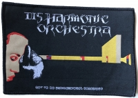 DISHARMONIC ORCHESTRA - Not To Be Undimensional Conscious - 15,3 cm x 10,3 cm - Patch