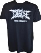DISUSE Noise Monkeys - Gildan Heavy Cotton T-Shirt L