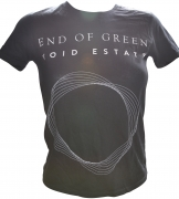 END OF GREEN Circles Girlieshirt