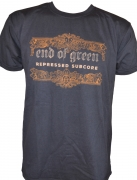 END OF GREEN - Etching Black - T-Shirt