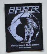 ENFORCER Death Rides Patch - 8,2 cm x 10,2 cm