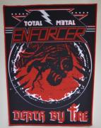 ENFORCER - Total Metal-Death By Fire - 28 cm x 35 cm - Backpatch