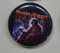 GRAVE DIGGER Heart Of Darkness Button (o263)
