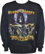 GRAVE DIGGER Knights Of The Cross - Gildan Sweatshirt