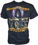 GRAVE DIGGER Knights Of The Cross - Gildan T-Shirt