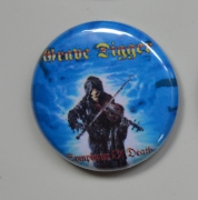 GRAVE DIGGER Symphony Of Death Button (o263)