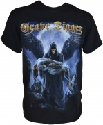 GRAVE DIGGER The Grim Reaper T-Shirt