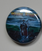 GRAVE DIGGER Tunes Of War Button (o263)