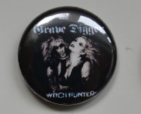 GRAVE DIGGER Witch Hunter Button (o263)
