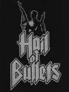 HAIL OF BULLETS Soldier WOVEN PATCH 9,8 cm x 8,1 cm (o266a)