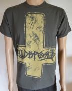 ILLDISPOSED Inverted Cross - Graues T-Shirt M (u486)