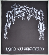 MESSIAH Hymn To Abramelin - 39 cm x 34 cm Backpatch