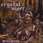 CRYSTAL VIPER Metal Nation CD