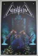 NIFELHEIM - 1st Album - 30 cm x 20 cm - Aluminum Shield