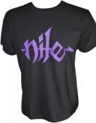 NILE Purple Logo T-Shirt