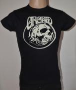 ORCHID Skull Girlieshirt