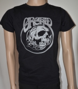 ORCHID Skull Grey T-Shirt