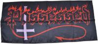 POSSESSED Logo Posterflagge