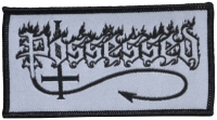 POSSESSED - Black Logo - 10 cm x 5,2 cm - Patch