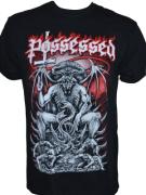 POSSESSED - Pentagram Throne - Gildan T-Shirt