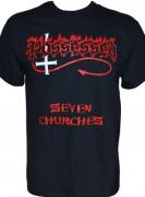 POSSESSED - Seven Churches - Gildan T-Shirt