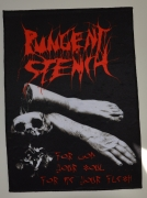 PUNGENT STENCH For God Your Soul...For Me Your Flesh Backpatch